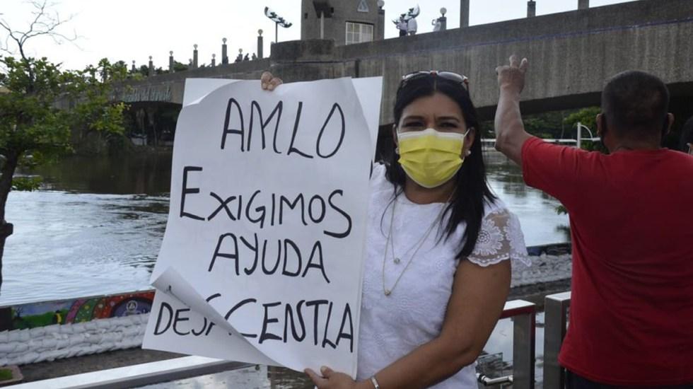 #Video Siento vergüenza por López Obrador, afirma diputada de Tabasco al reclamar falta de empatía por inundaciones - Diputada de Tabasco, Elsy Lydia. Foto de El Heraldo de Tabasco