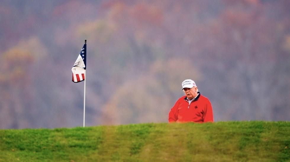 Tras breve aparición en el G20, Trump deja la reunión para ir a jugar golf - Foto de EFE