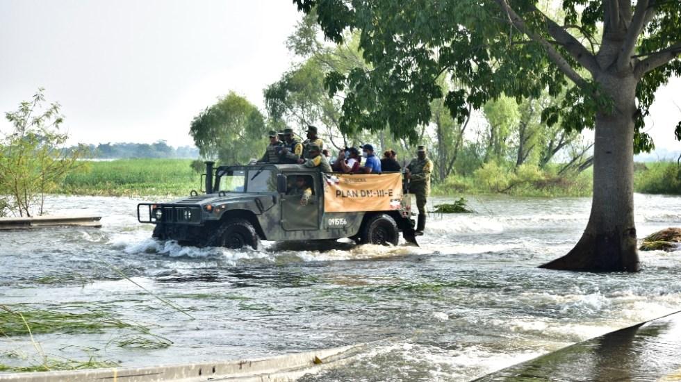 Ocho muertos tras inundaciones en Tabasco, confirma Protección Civil - Foto de EFE