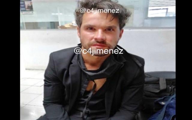 Eleazar Gómez trató de ocultar que es actor cuando fue detenido por tratar de estrangular a su novia - Foto de @C4Jimenez