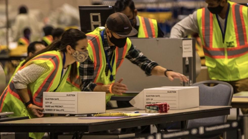 Recuento de votos en Georgia confirma ventaja de Joe Biden, afirma autoridad electoral - Foto de @PhillyMayor