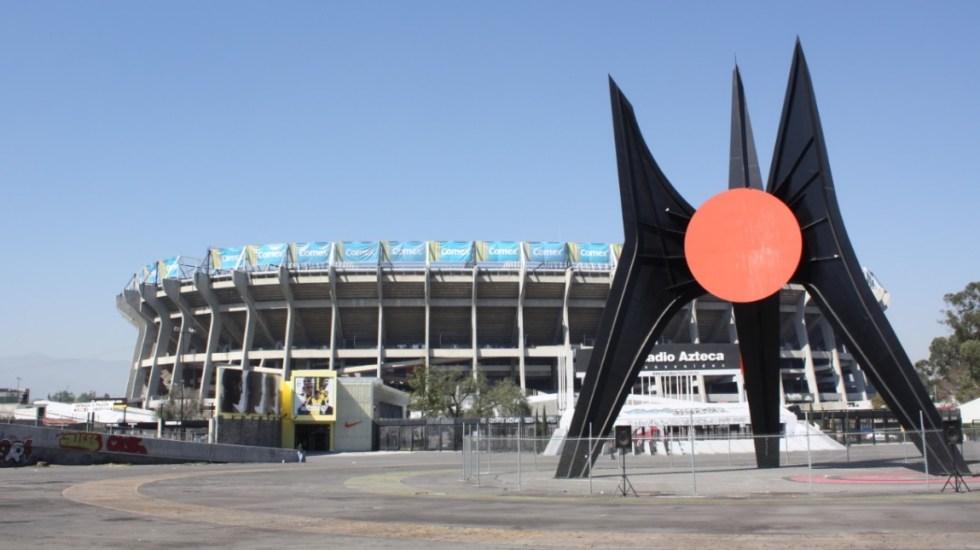 Estadios Azteca y CU abrirán al público hasta Semáforo Verde, afirma Alcaldía de Coyoacán - Estadio Azteca Ciudad de México