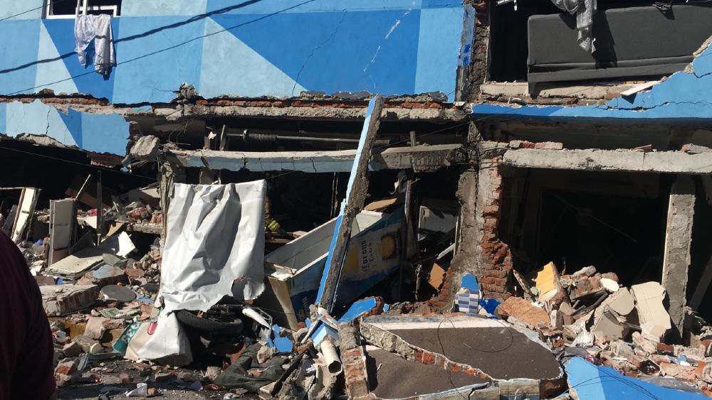 Al menos dos lesionados tras explosión en alcaldía Azcapotzalco - Foto de @SGIRPC_CDMX