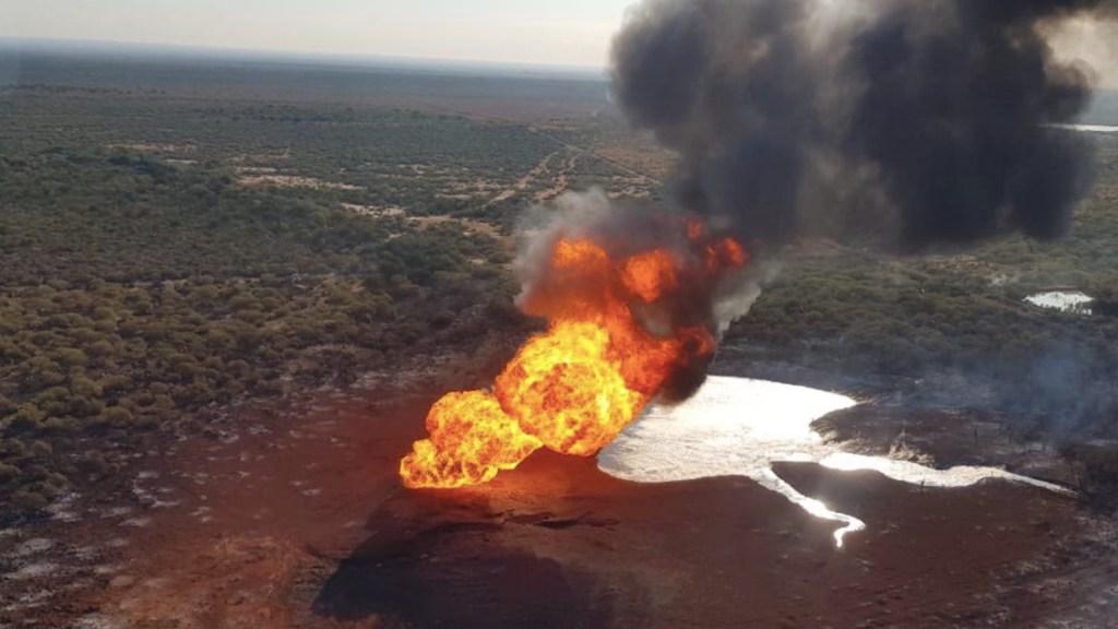 Explota gasoducto en China, Nuevo León; no hay heridos - Foto de Twitter Jaime Rodríguez