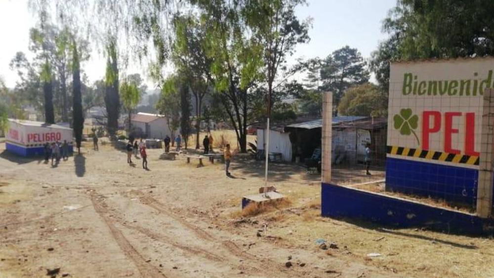 Un hombre muere tras explotar un polvorín en Tultepec, Estado de México - Foto de Protección Civiil Edomex