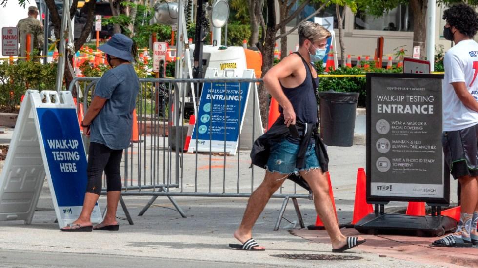 Florida informa de un nuevo caso de la cepa británica del coronavirus en EE.UU. - Foto de EFE