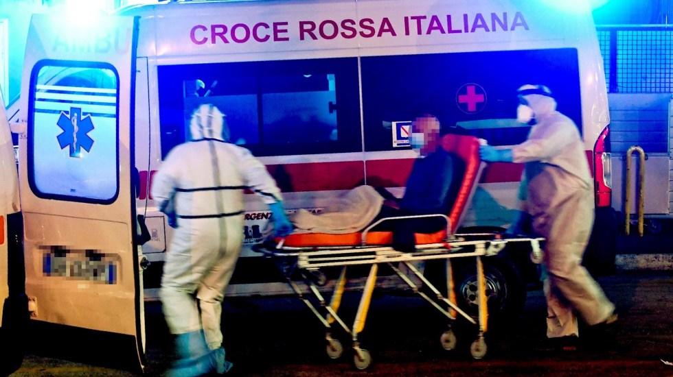 Una de cada 60 habitantes en Italia ha contraído el COVID-19 - Foto de EFE/EPA/CIRO FUSCO IMAGE PIXELLATED AT SOURCE.