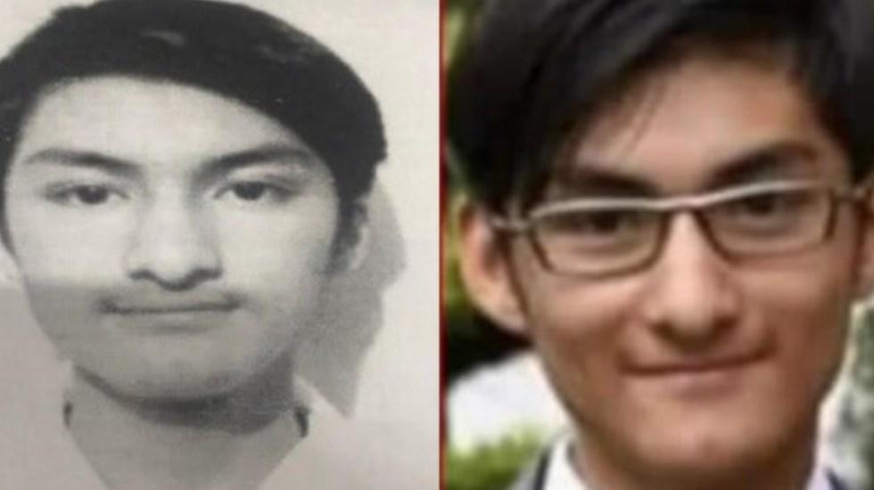 Localizan con vida a Jorge Barrera; estudiante de Prepa 5 desaparecido tras broma en WhatsApp - Jorge Barrera Ríos. Foto Especial