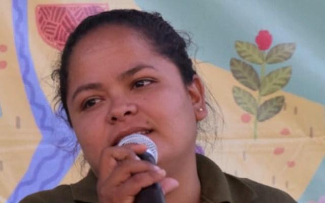 Piden a CNDH apoyar liberación de la activista Kenia Hernández - Kenia Hernández. Foto de @CDHVitoria