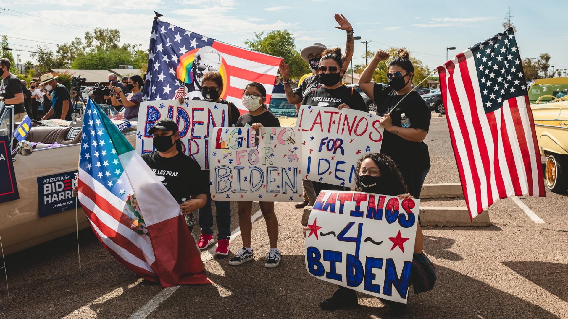 Latinos Joe Biden Arizona Estados Unidos 2