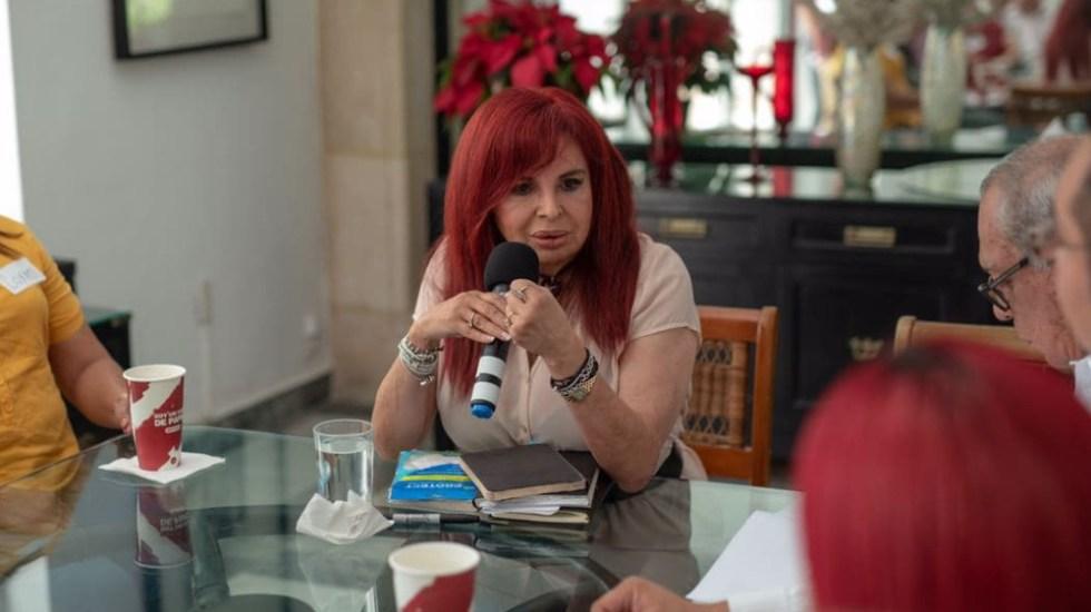 Layda Sansores obtiene el triunfo en la encuesta de Morena para gubernatura de Campeche - Foto de Layda Sansores