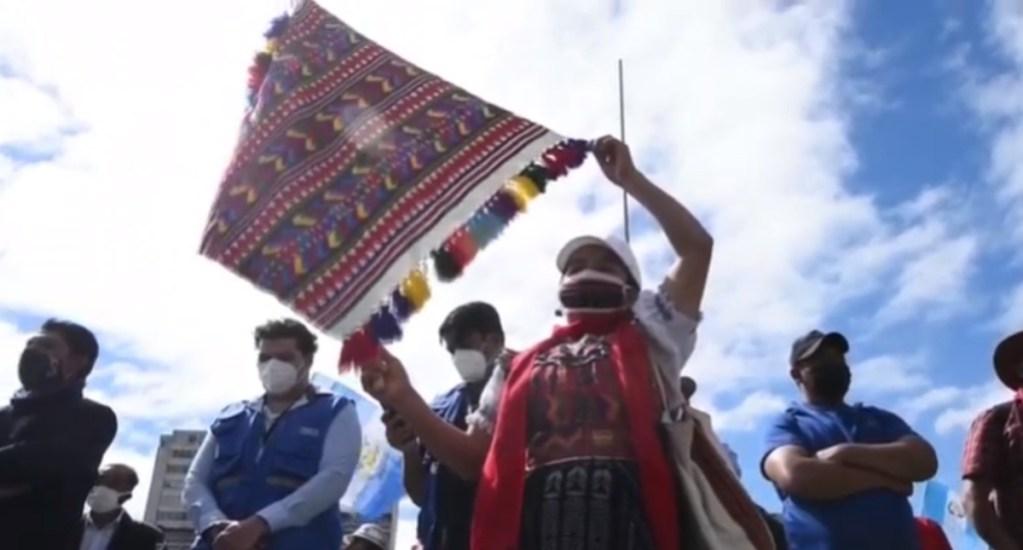 Autoridades indígenas protestan en Guatemala y exigen dimisión de Giammattei. Noticias en tiempo real