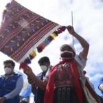 Autoridades indígenas protestan en Guatemala y exigen dimisión de Giammattei