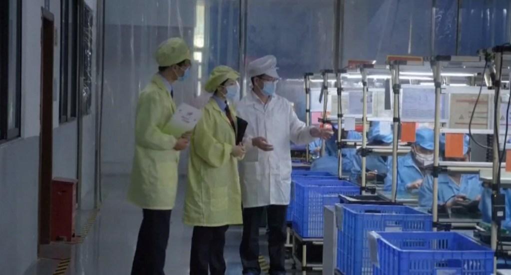 La industria manufacturera china obtiene el mejor dato del año en noviembre. Noticias en tiempo real