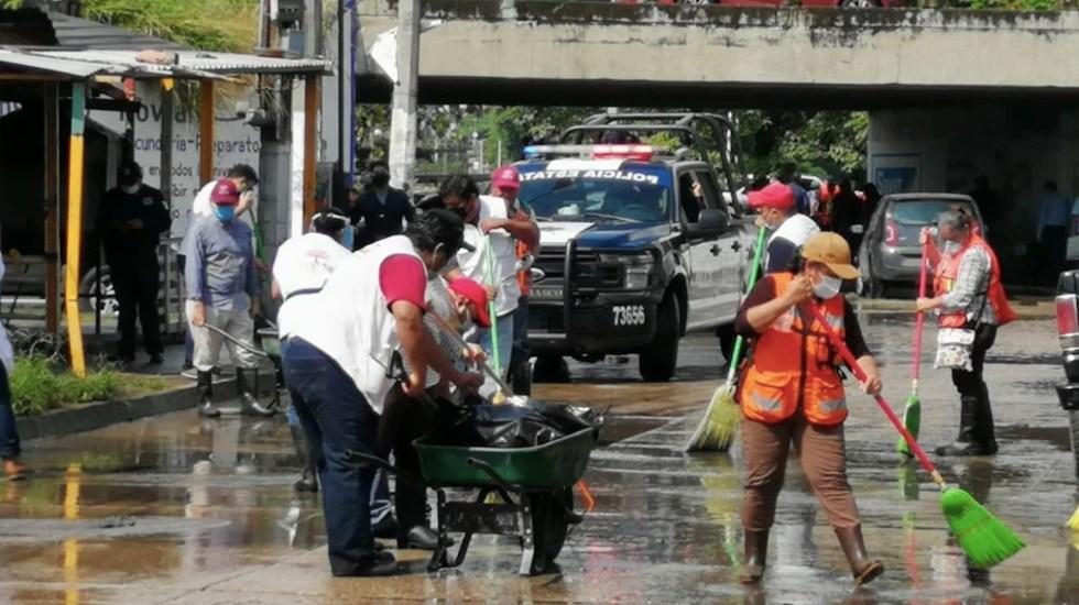 Lluvias intensas e intermitentes afectarán Tabasco en las próximas 72 horas - Foto de CNPC