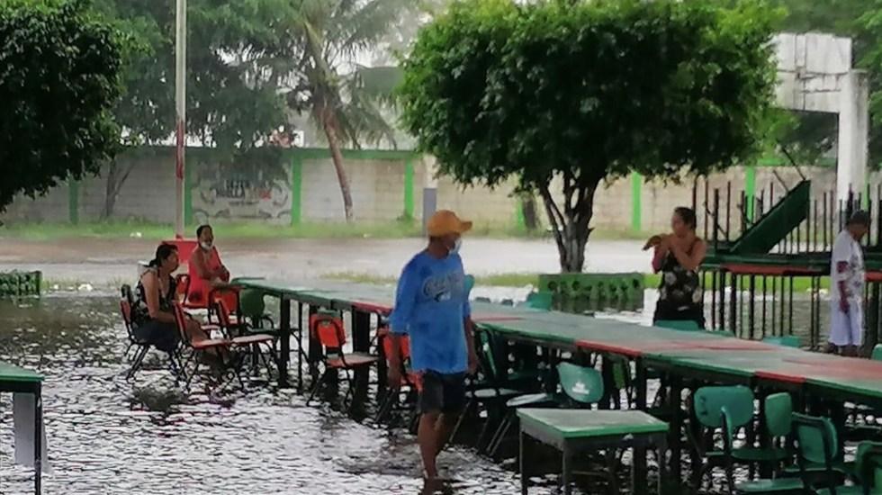 Lluvias continuarán en el sureste mexicano durante el fin de semana - Foto de CNPC