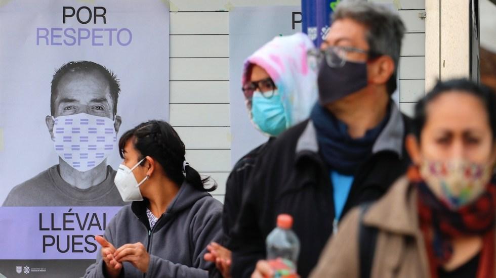 Detectan 336 casos positivos de COVID-19 en el primer día de funcionamiento de macrokioscos en la Ciudad de México - Foto de EFE