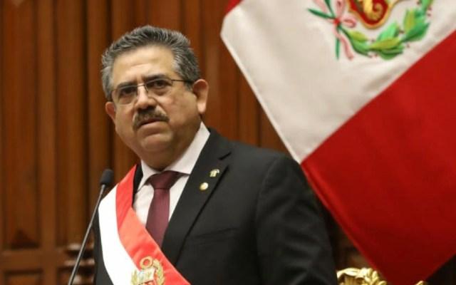 "Expresidente interino de Perú asegura que no fue ""usurpador"" ni ""golpista"" - Foto de @congresoperu"