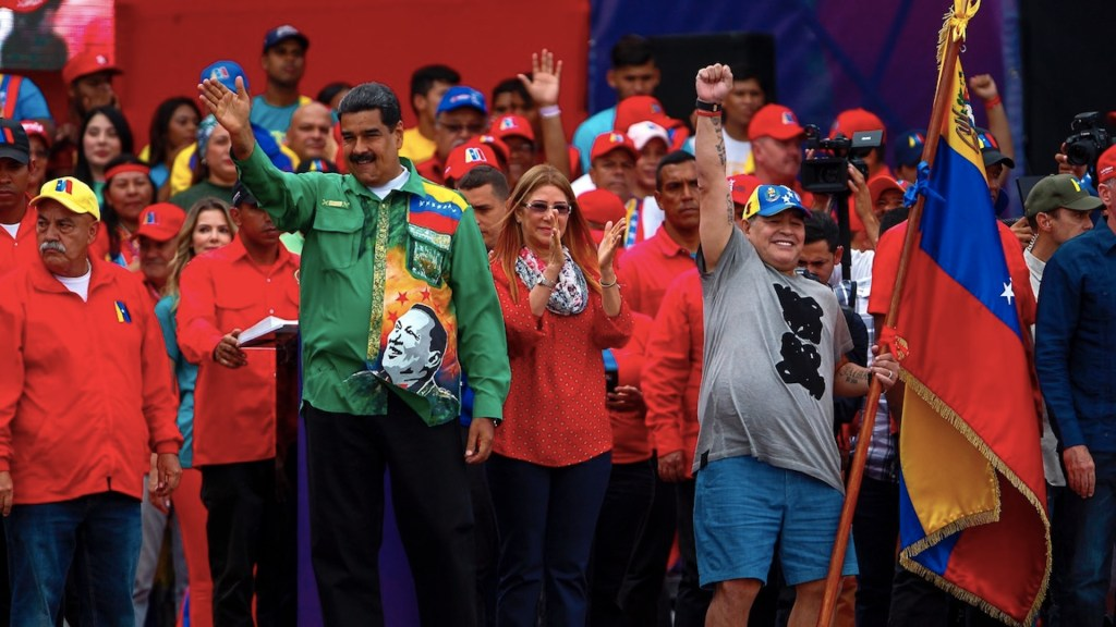 Maradona y la política Latinoamericana. Noticias en tiempo real