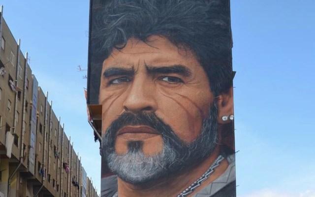 Maradona, un ícono de la cultura y el arte - Foto de Jorit Agoch Fan Club