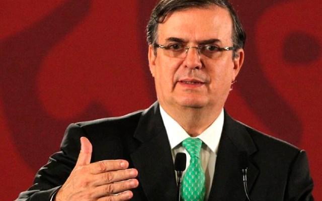 """""""México se perfila en el Consejo de Seguridad de la ONU con soluciones globales"""", asegura Ebrard - Marcelo Ebrard. Foto EFE"""