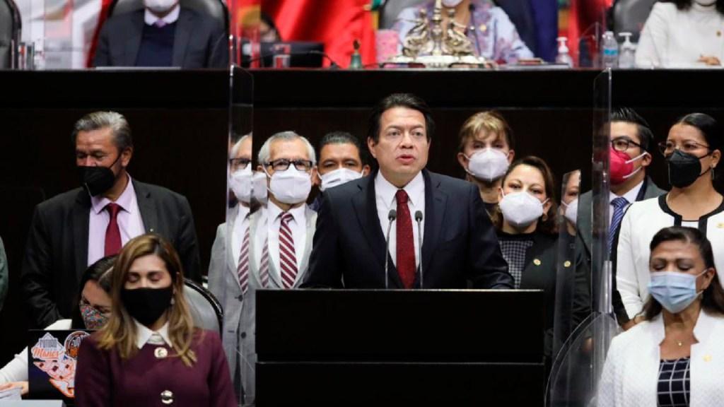 Otorgan licencia a Mario Delgado; asumirá como presidente del partido Morena - Foto Twitter @mario_delgado