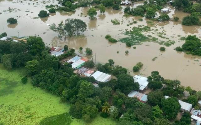 Prevén lluvias torrenciales en Chiapas y Tabasco; Frente Frío se extenderá sobre el sureste de México - México prevé lluvias torrenciales en Chiapas y Tabasco, devastados por huracán 'Eta' hace unas semanas. Foto @ProcivilTabasco