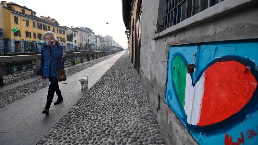 Italia registra 35 mil 98 nuevos contagios de coronavirus y 580 muertos - Foto de EFE