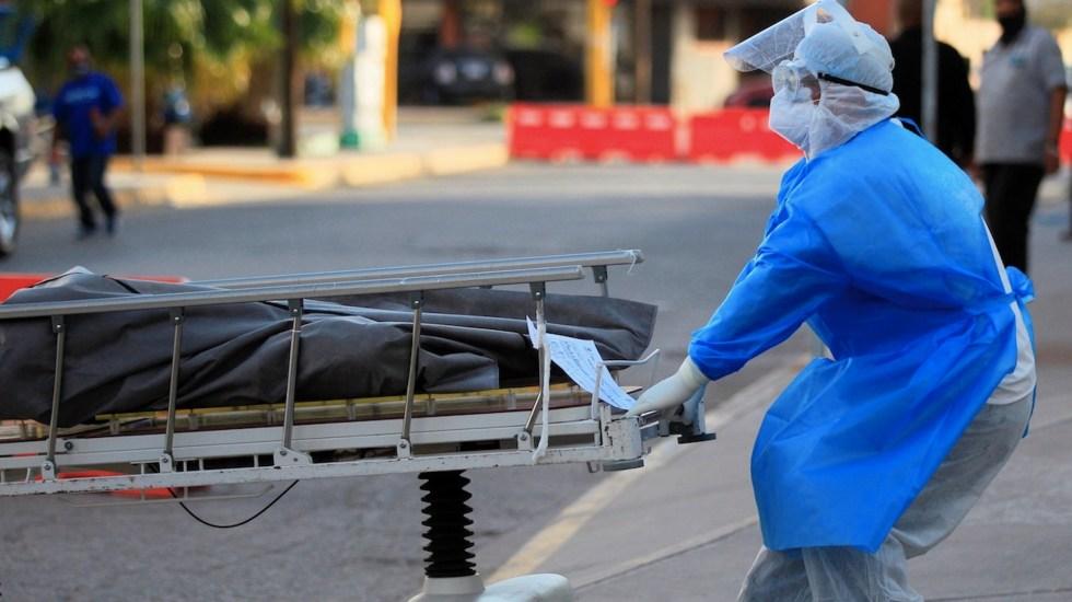 De continuar tendencia, en marzo de 2021 habría en México 143 mil 740 muertes por COVID-19: IHME - Foto de EFE