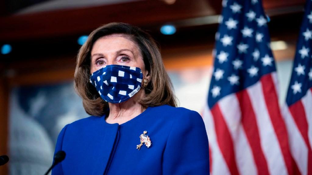Asegura Nancy Pelosi que demócratas ganan la Cámara y ahora necesitan ganar la Casa Blanca - Foto Especial