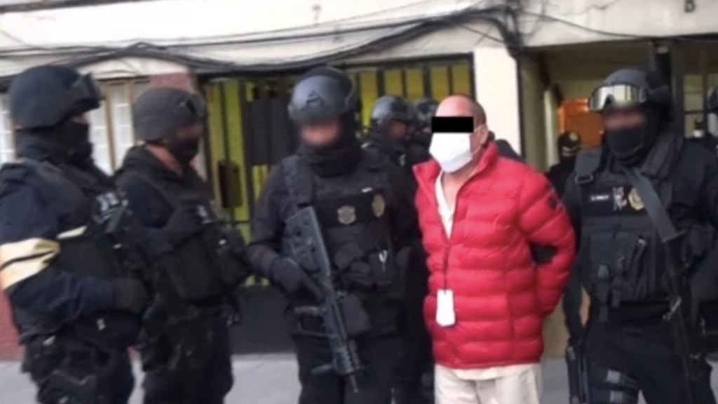 Detienen a Dionisio Flores Valle, alias 'Nicho', padre de 'El Lunares' - Foto de SSC