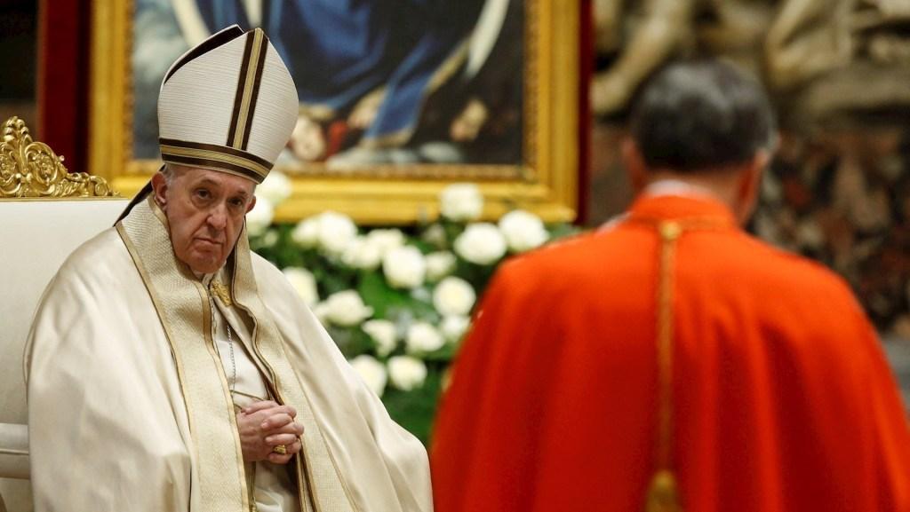 El papa nombró a 13 cardenales; les advierte del peligro de la corrupción - El papa Francisco. Foto de EFE/EPA/FABIO FRUSTACI.