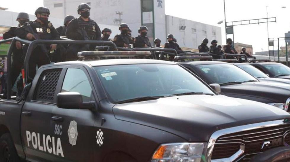 Operativo en Centro Histórico deja 11 detenidos en posesión de narcóticos y armas de fuego - Foto Twitter @OHarfuch