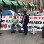 Profesores de Tabasco mantendrán plantón en inmediaciones de Palacio Nacional hasta que sean atendidos por AMLO