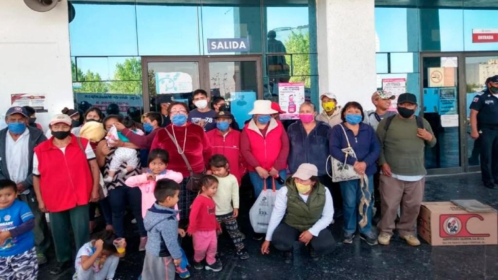Protestan por pagos que Manuel Espino supuestamente quedó a deber cuanto trabajó en Ayuntamiento de Naucalpan - Foto Especial