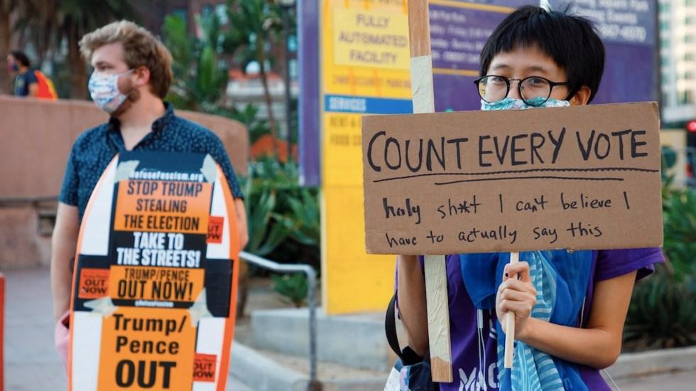 Nevada no tendrá resultados hoy. Seguirá con el conteo de votos hasta el 12 de noviembre - Foto de EFE
