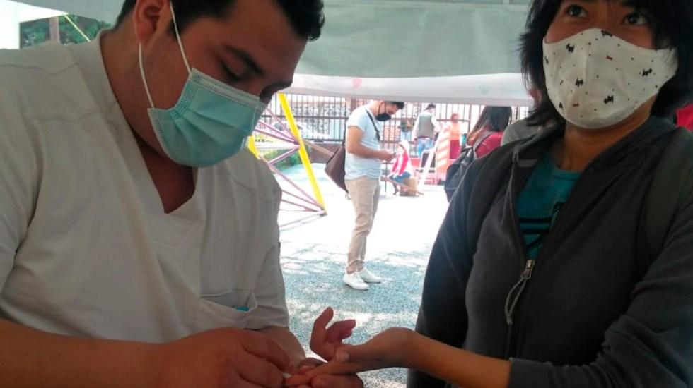 OMS toma con cuidado vacunas contra COVID-19 porque no son toda la solución a la pandemia, afirma Salud - Foto Twitter @SSaludCdMx