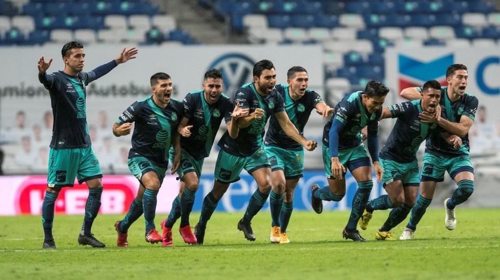 Puebla da la sorpresa y se mete a cuartos del Guardianes 2020; saca al campeón Monterrey de la competición - Puebla Monterrey partido 22 11 2020 2