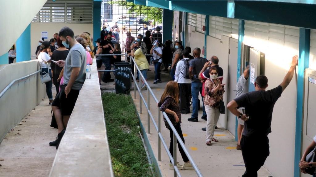 Cierran colegios electorales en Puerto Rico pese a largas filas de espera - Puerto Rico elecciones votos Estados Unidos