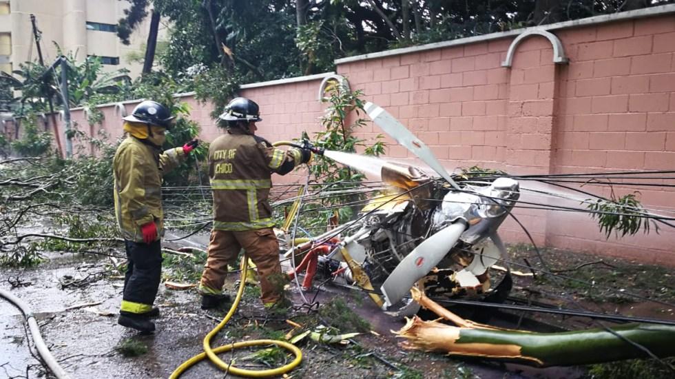 #Video Accidente de avión pequeño en Guatemala deja una persona muerta - Restos de avión pequeño siniestrado en Guatemala. Foto de @BVoluntariosGT