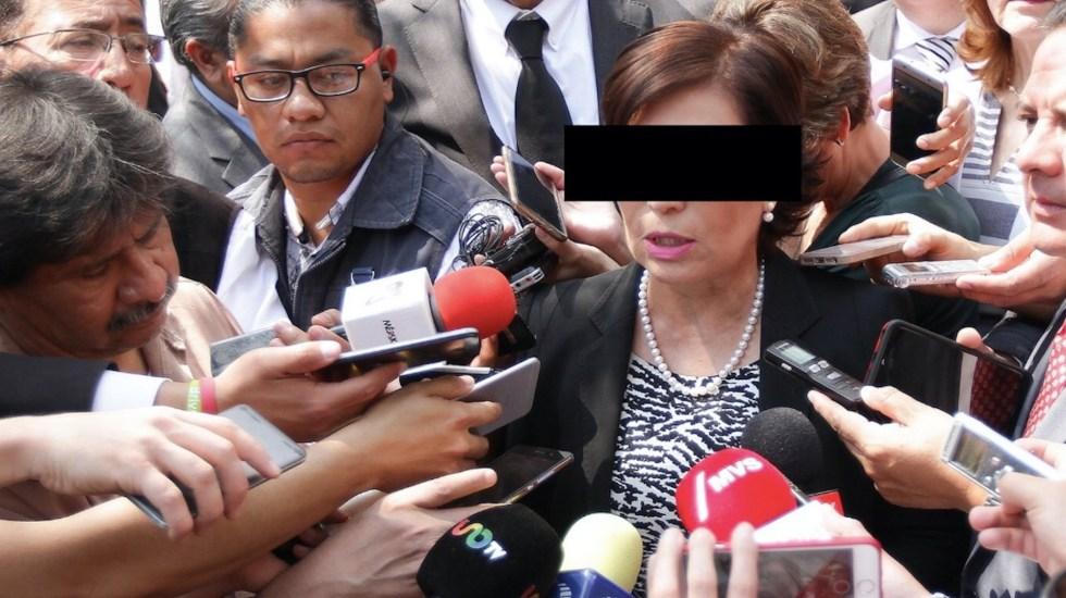 """""""Seguro habrá quienes nieguen los hechos pero las pruebas hablarán"""", asegura Rosario Robles - Foto de Notimex"""