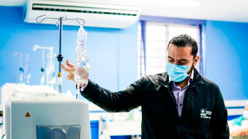Allanan instituciones gubernamentales de El Salvador por fondos para pandemia - Foto Twitter @SaludSV