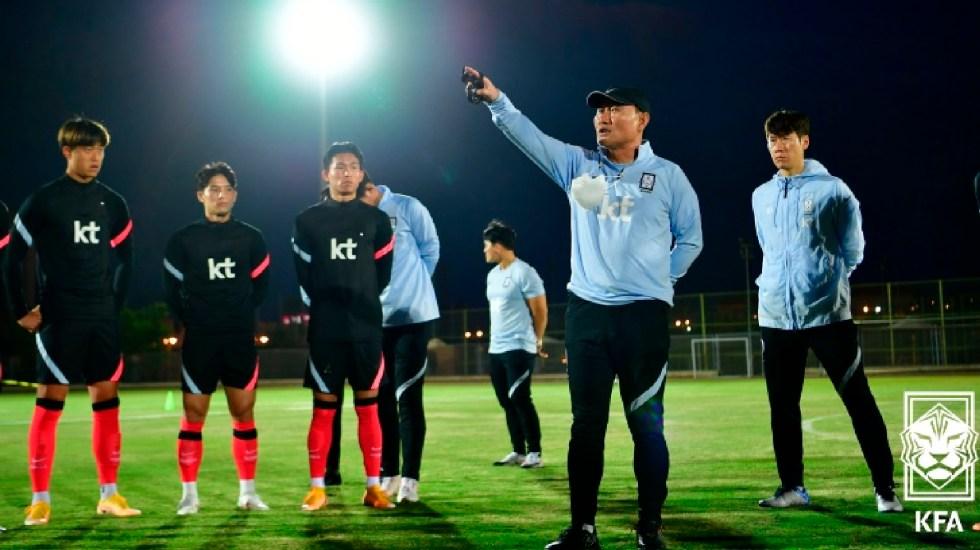 Cuatro futbolistas y un miembro de cuerpo técnico de Selección de Corea del Sur dan positivo a COVID-19 previo a partido contra México - Foto The KFA