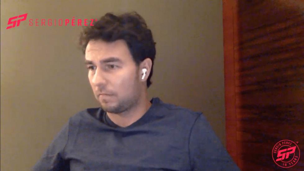 """Decisión de seguir está en Red Bull"", advierte 'Checo' Pérez; Plan 'B' es tomar año sabático - Sergio 'Checo' Pérez. Captura de Pantalla."