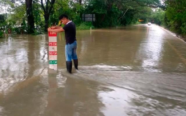 Pronostican lluvias muy fuertes para seis estados en las próximas horas - SMN pronostica lluvias muy fuertes en Chiapas, Oaxaca, Puebla, Quintana Roo, Tabasco y Veracruz. Foto Twitter @ProcivilTabasco