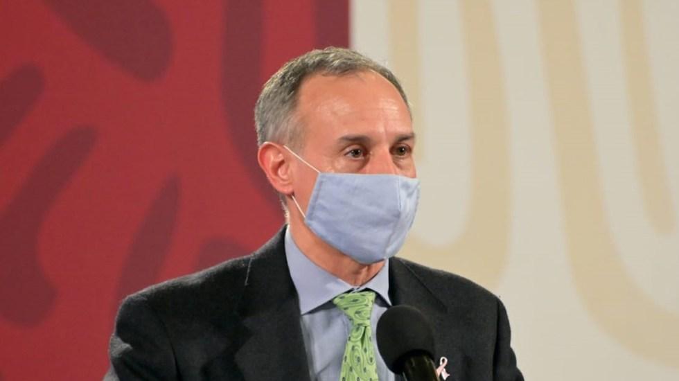 López-Gatell tiene poca fiebre y está controlado, asegura Ricardo Cortés - Subsecretario de Prevención y Promoción de la Salud, Hugo López-Gatell. Foto de SSa