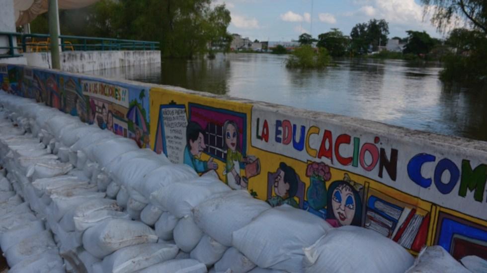 Inundaciones dejan más de 150 mil daminificados en Tabasco; algunos ríos comenzaron a disminuir su cauce - Foto de Tabasco Hoy