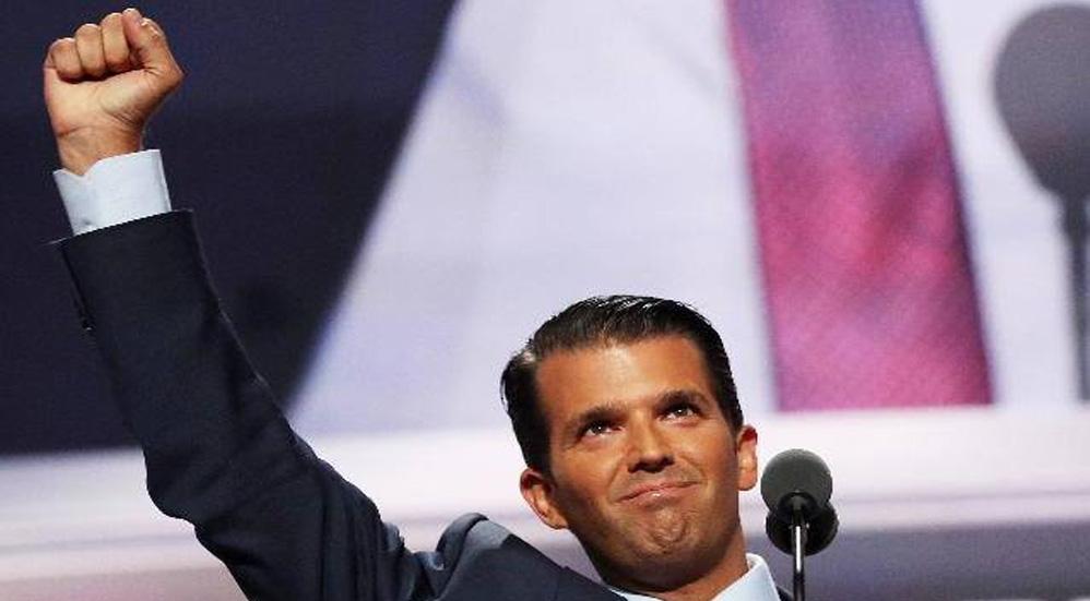 """Ironiza Donald Trump Jr. y pronostica que México """"votará"""" por Joe Biden - Foto Facebook Donald Trump Jr."""