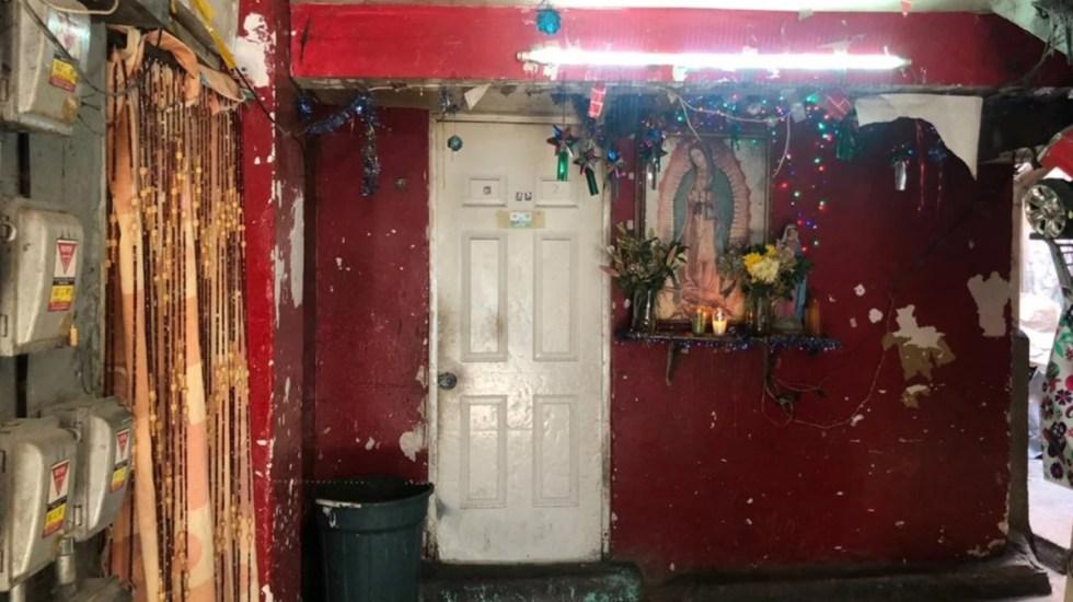 Expulsan a funcionarios de CDMX de vecindad donde vivían niños mazahuas asesinados - Vecindad donde vivían Alan Yahir y Héctor Efraín. Foto de El Universal