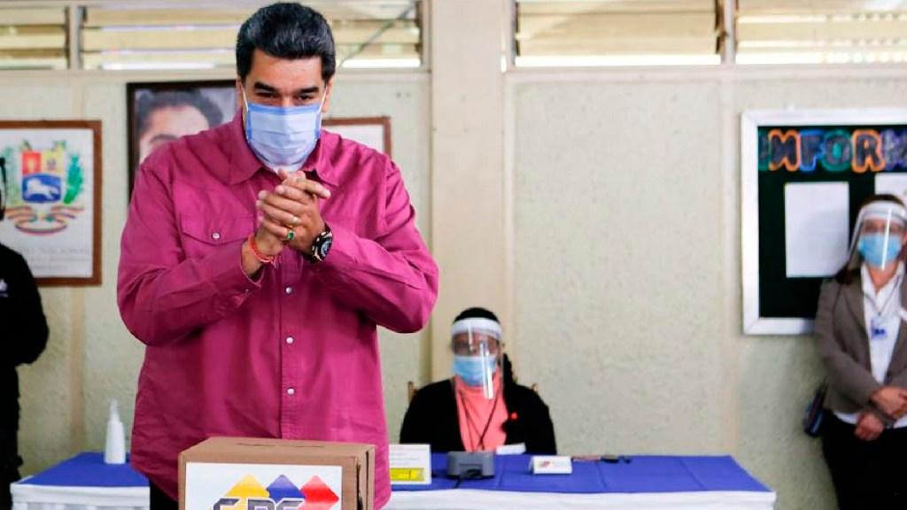 Encuesta prevé triunfo de partido oficialista en Venezuela; hubo abstención de casi 80 por ciento - Abstención cercana al 80 por ciento en elecciones parlamentarias de Venezuela, revela encuesta. Foto Twitter @NicolasMaduro